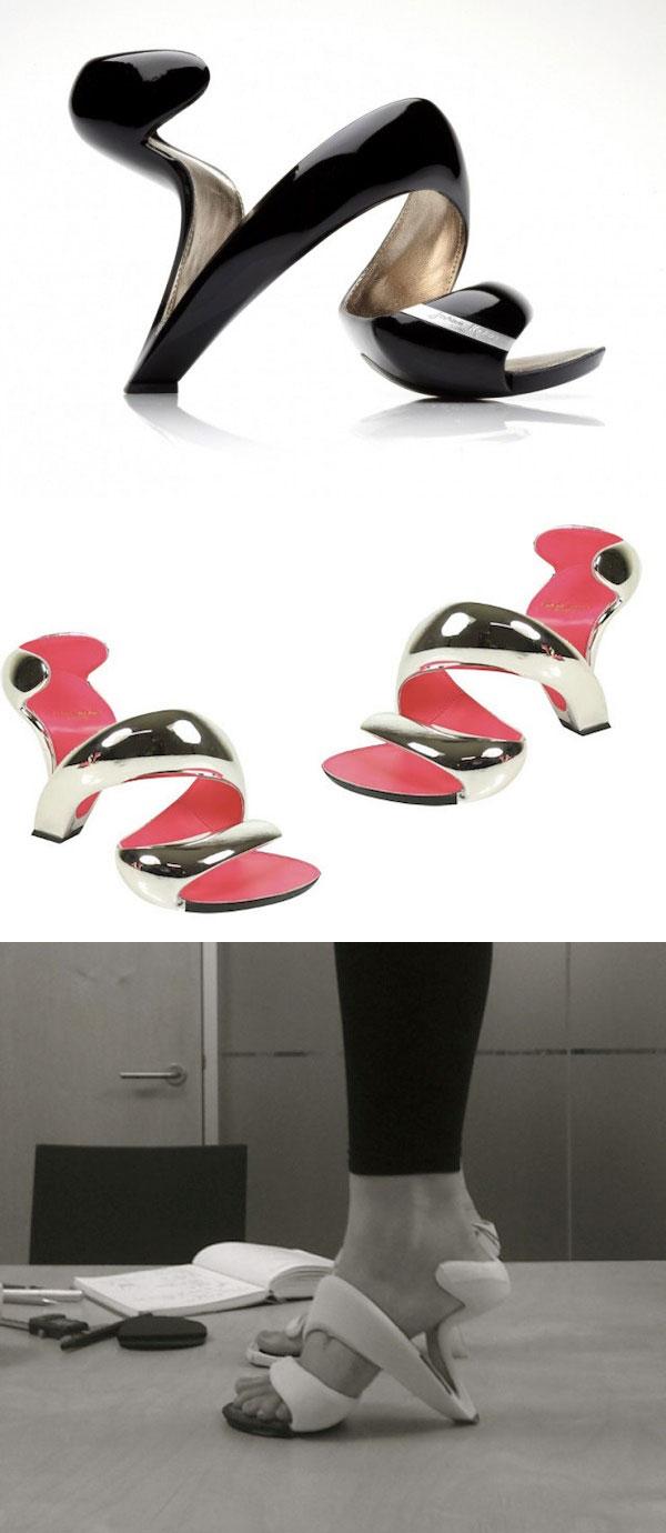 Julian Hakes Mojito geleceğin topuklu ayakkabıları