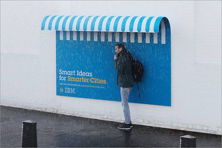 IBM - A smarter planet - Yağmurdan koruma