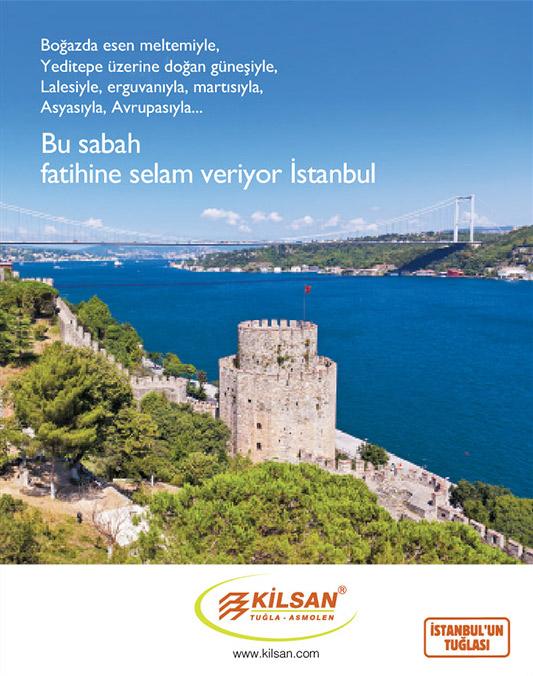 Kilsan İstanbul'un Fethi ilanı