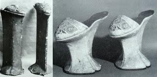 Eski topuklu ayakkabı