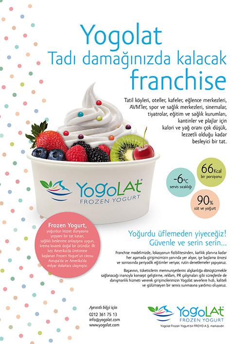 Yogolat franchise ilanı