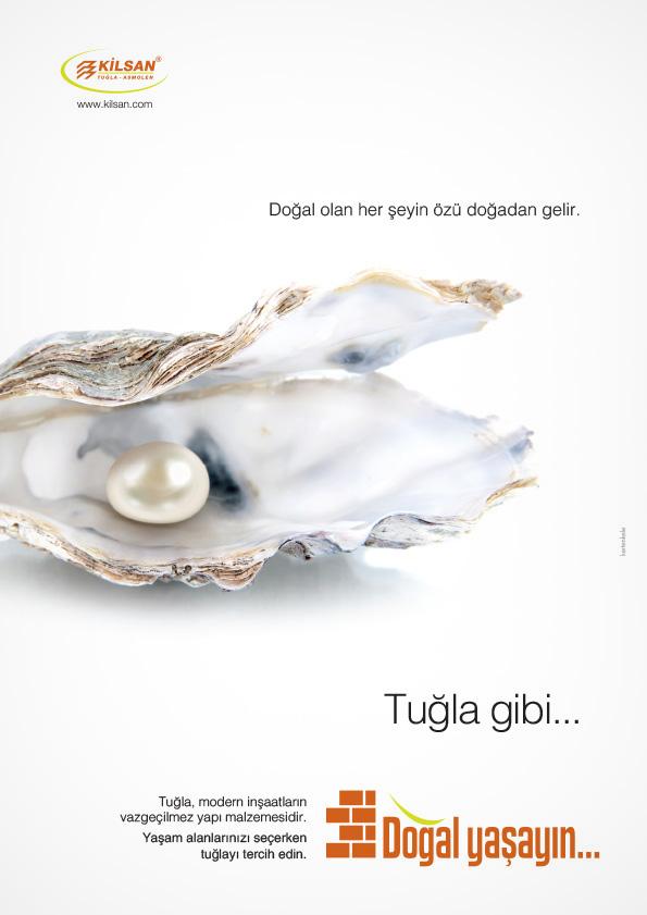 Tuğla doğaldır reklam kampanyası dergi ilan tasarımı 2