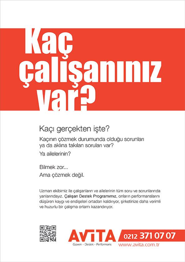 Avita reklam kampanyası dergi ilanları