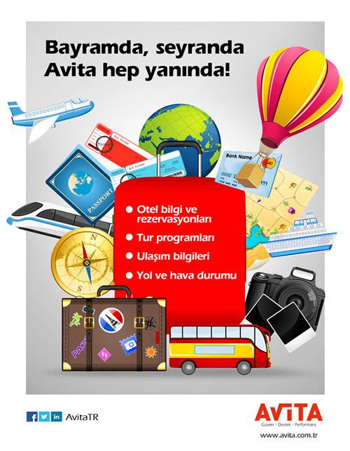 Avita bayram e-bülten tasarımı